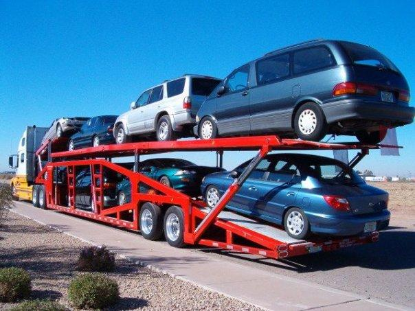 Auto Transport Carriers >> Carrier Trailer Types - Houston Auto Shipping - Transport Trailer